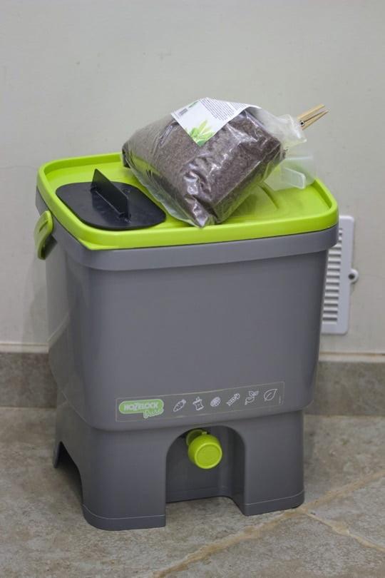 Mon seau bokashi pour un compost maison