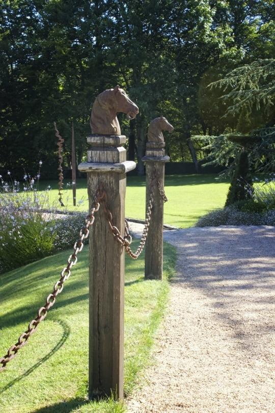 Entrée des jardins d'Eyrignac