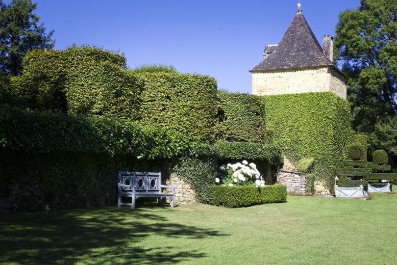 Pavillon de repos à Eyrignac