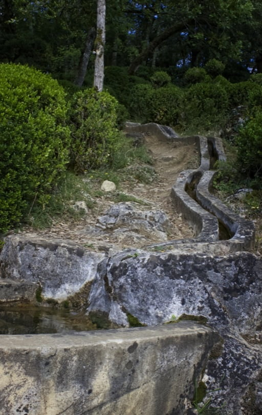 Cascades des jardins de Marqueyssac