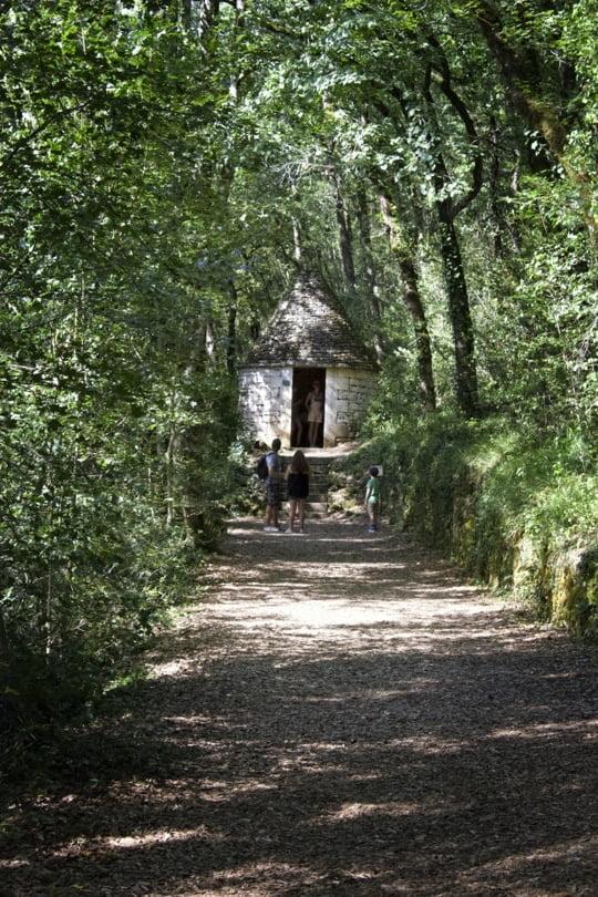L'asile du poète dans les jardins de Marqueyssac