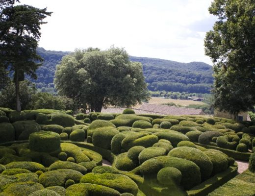 Chaos de buis au jardin de Marqueyssac