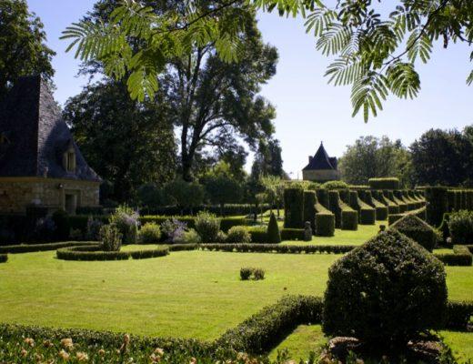 Jardins à la française à Eyrignac