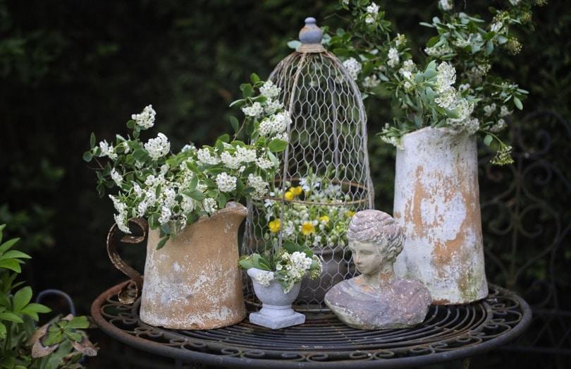 Des bouquets champêtres et romantiques